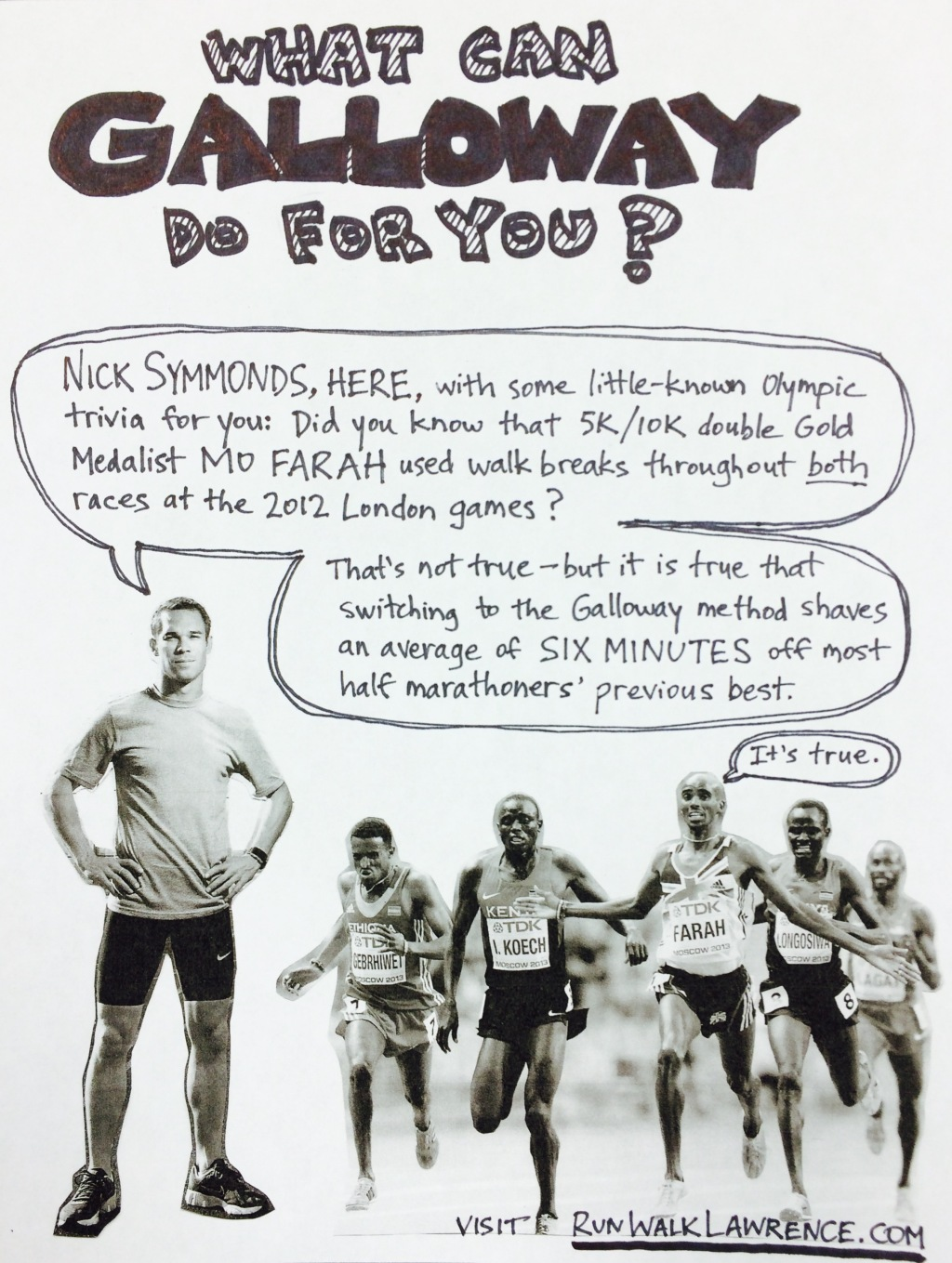 Jeff Galloway training poster